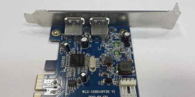 USB3.0 контроллер 2xUSB NEC