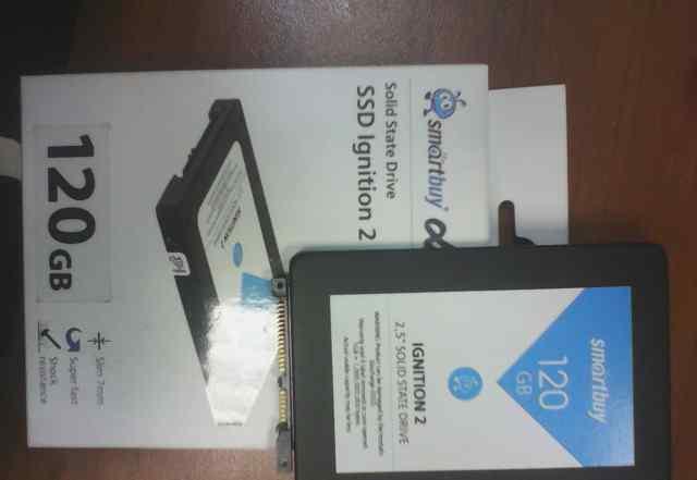 Жёсткий твердотельный диск SSD 120 GB