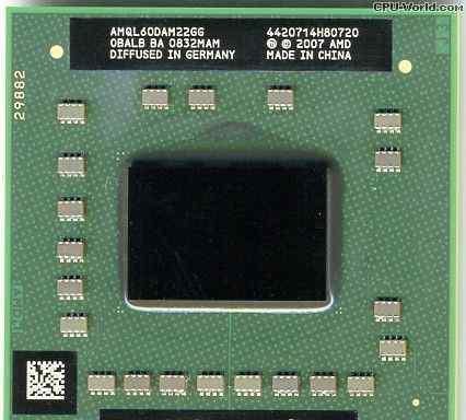 AMD Athlon 64 X2 for Notebook amql60DAM22GG
