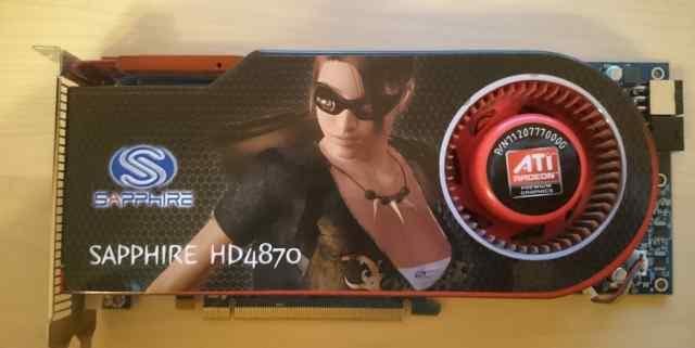 Видеокарта Sapphire HD 4870, 512 Mb, gddr5