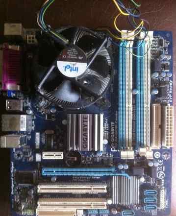 Gigabyte g41m combo + intel Core2duo