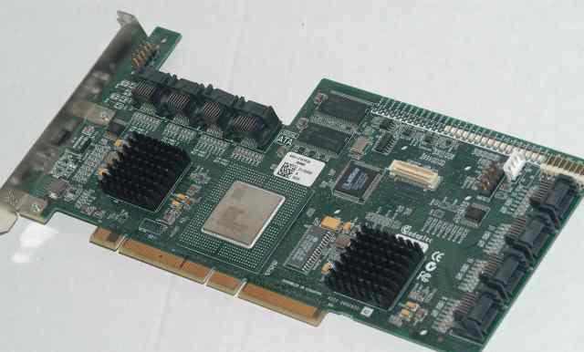 Adaptec raid-контроллер 64 карты модель AAR-21610s