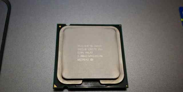 Intel Core 2 Duo E8400 3000 MHz