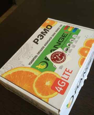 Усилитель сигнала (антенна) LTE (4g) Рэмо Orange 2