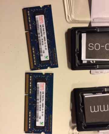 Sodimm DDR3 4Gb (2x2Gb) для ноутбука