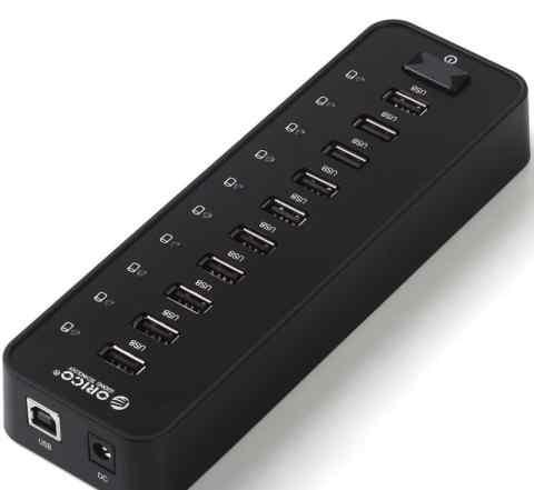 USB-концентратор Orico P10-U2