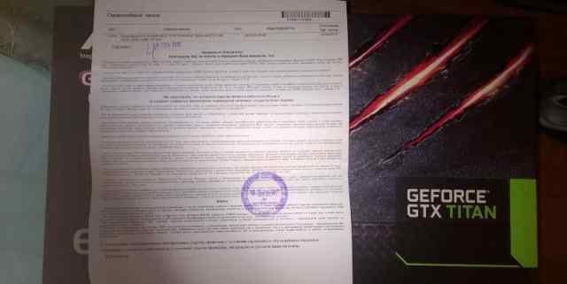 Asus GTX titan 6 GB