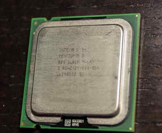 Процессор Intel Pentium D 820 Smithfield 2800MHz