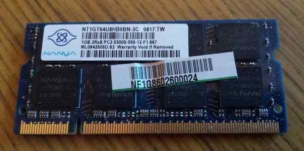 Nanya 1 Гб оперативной памяти для ноутбука ддр - 2