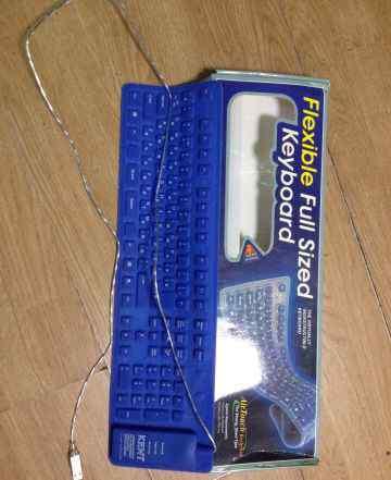 Гибкая usb клавиатура kent