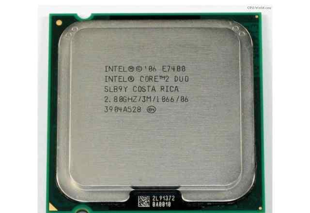 процессор e7400 dual core