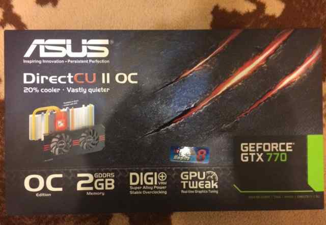 Видеокарта asus GeForce GTX770-P-2GD5