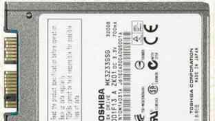 Toshiba мк3233GSG 320 GB 1.8 дюйма