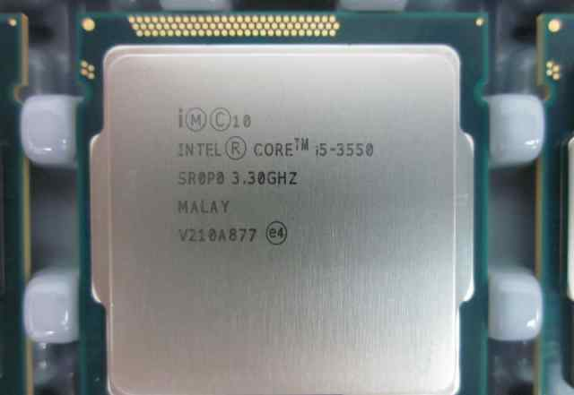 Мат плата плюс процессор i5 3550, ga-h77