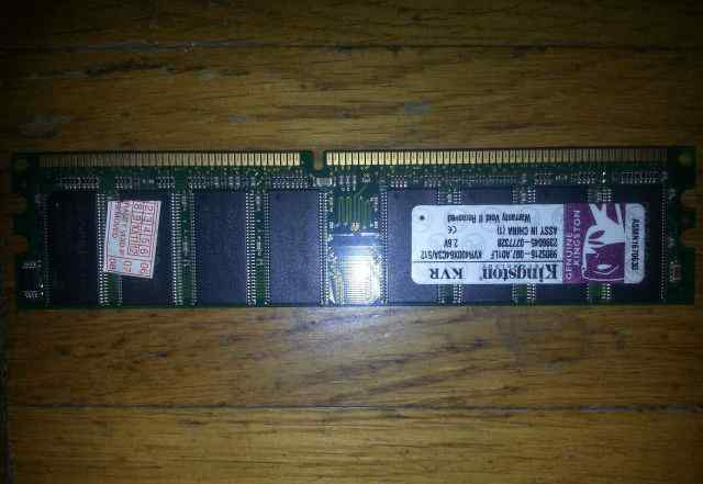 Модуль памяти Kingston DDR512MB KVR400X64C3A/512