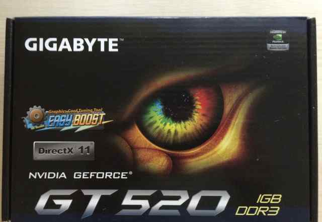 Видеокарта nvidia GeForce GT 520