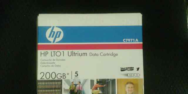 HP LTO 1 Ultrium Data Cartridge 200gb C7971A