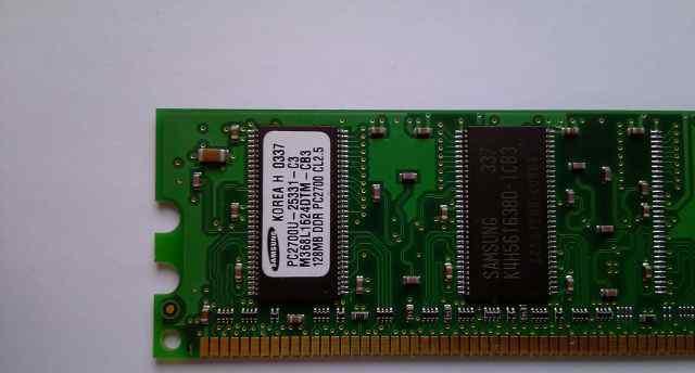 Память PC2700 128Mb Samsung M368L1624DTM