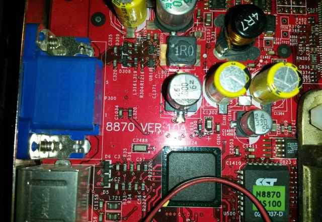 AGP MSI 8870 Ver 10A Nvidia G4Ti4200