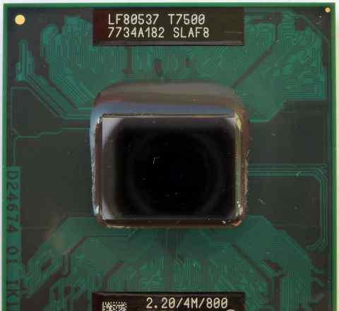 Процессоры Intel Core 2 Duo Т5600/T7500