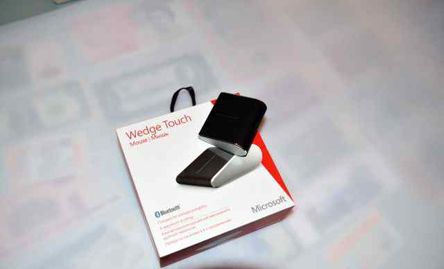 Microsoft Wedge Touch Mouse Black Bluetooth