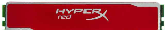 Kingston hyperx red 4gb ddr3-1600