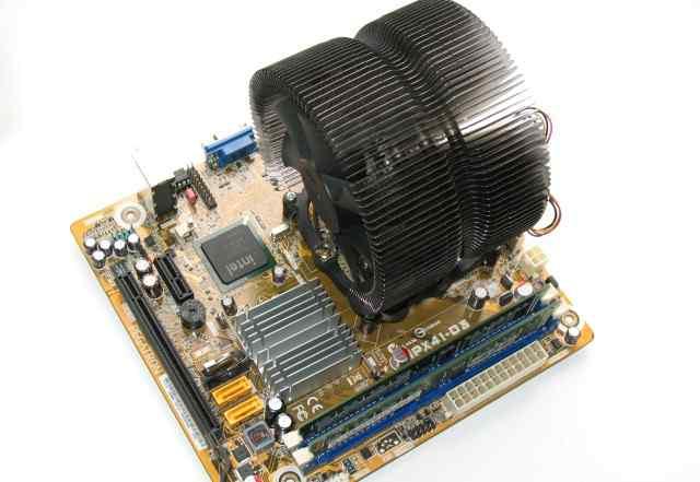 Материнская плата Pegatron IPX41-D3 (+ CPU, RAM)