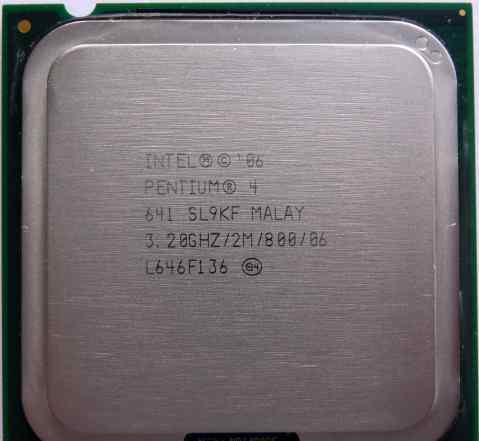 Процессор Intel Pentium 4 641