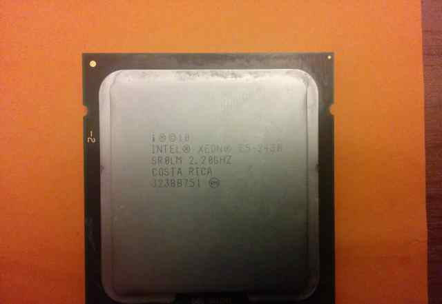 Процессор Intel Xeon E5-2430