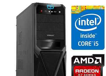 Пк компьютер Intel Core i5-650/MSI HD 5770/озу 4гб
