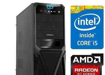 Пк компьютер Intel Core i5-650/MSI HD 5770/озу 4гб