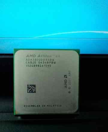 AMD Athlon 64 3800+ ADA3800DAA4BW + радиатор