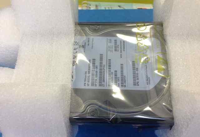 Жесткий диск HP 3TB 6G SAS 7.2K rpm L (625031-B21)
