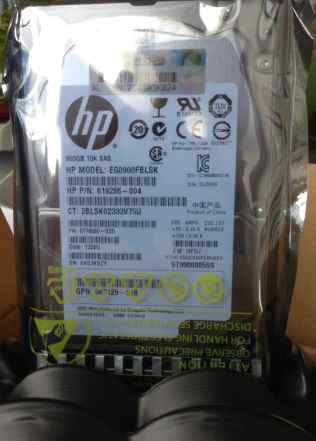 Жесткий диск HP900Gb 10K SAS 2.5DP 6.0G 625031-B21