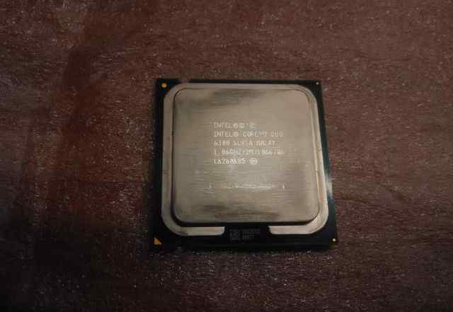 Процессор intel core 2 duo 6300 1.86GHz