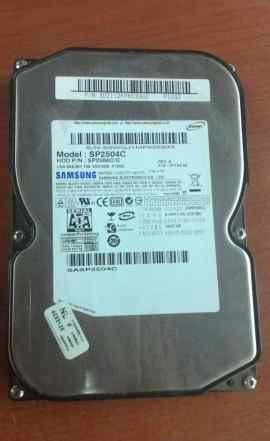 Жесткий диск 250 GB samsung