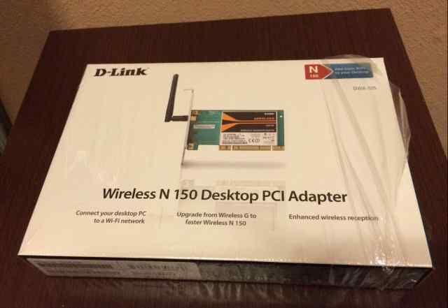 Wi-fi карта dlink dwa-525