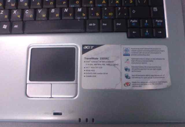 Acer TravelMate 2355XC