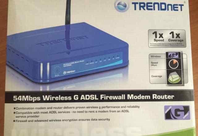 Adsl-модем и WiFi-роутер Trendnet TEW-435BRM