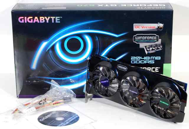 Gigabyte GeForce GTX670, 2048мб