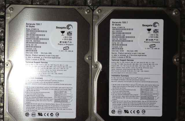 Seagate ST380011A Barracuda 7200.7 IDE 80 GB