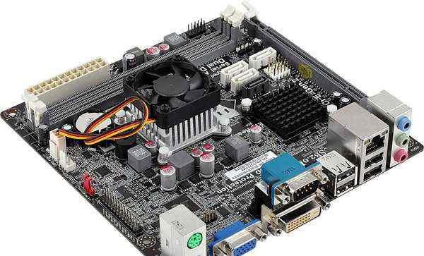 ECS NM70-I2 (V1.0), Celeron 847, DVI, mini ITX