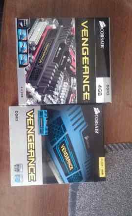 Corsair Vengeance CMZ8GX3M2A1600C9- DDR3 2x4Гб 160