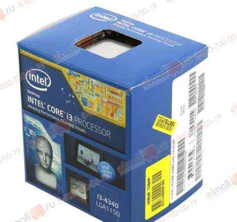 Intel i3 4340 3.6Ghz 1150 BOX Не вскрыт