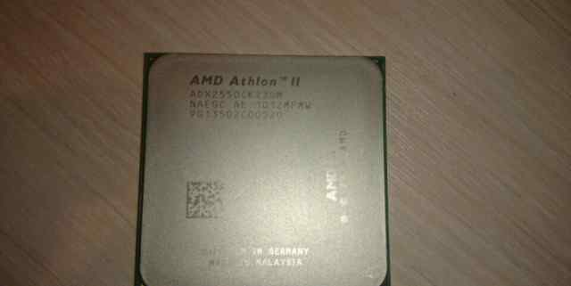 AMD Athlon II X2 255(Socket AM3, 2 ядра, 3.10 ггц)
