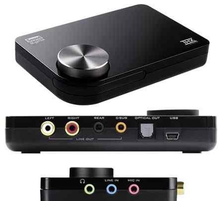 Sound Blaster X-FI USB 5.1