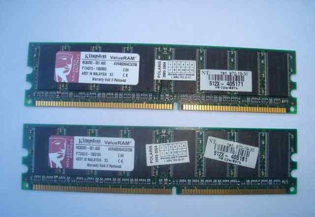 Память Kingston DDR PC3200