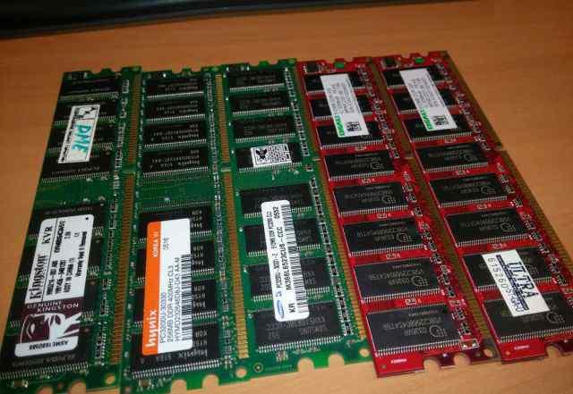 DDR 400 512MB 256MB для домашнего компа
