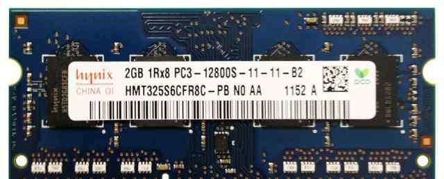 Модуль пямяти Hynix DDR3 SO-dimm PC3-12800 2G
