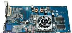 Видеокарта Gigabyte GV-N52128DE 128Mb FX 5200 TV